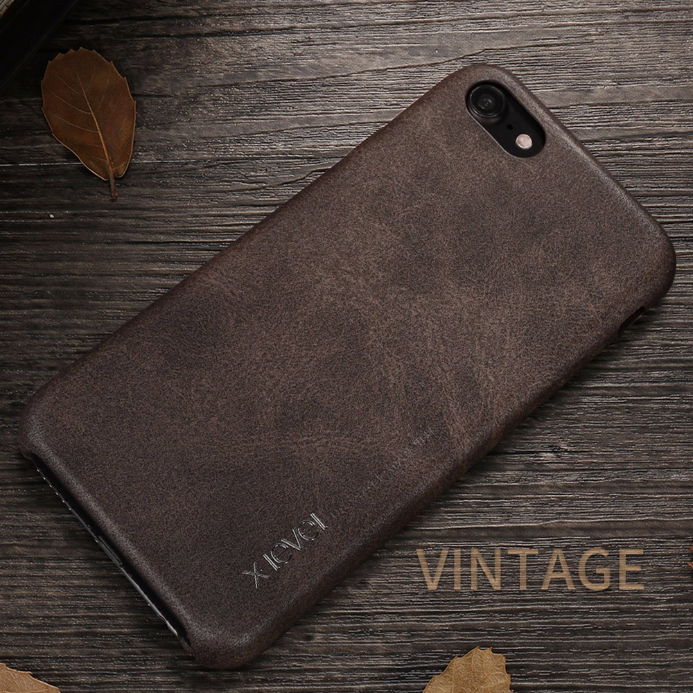 X-Level 2017 Top Sale Pu Leather Phone Case For Iphone 7