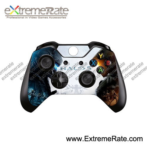 New Arrival for Xbox one Vinyl Skins Sticker For Xbox one and 2 Controllers Skins Cover