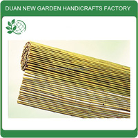 Roll up bamboo stick fence screening