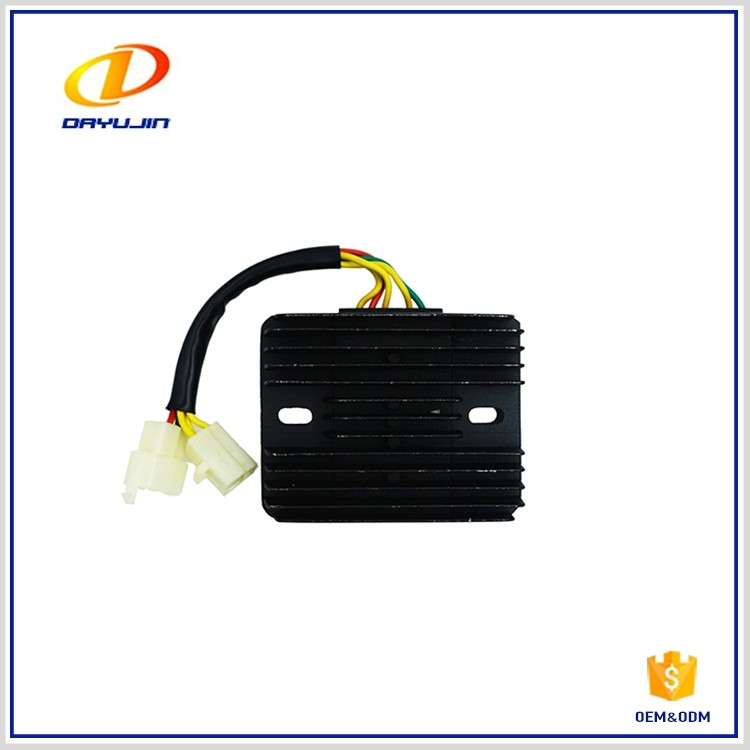 High Voltage High Frequency Three Phase Motorcycle Rectifier Regulator