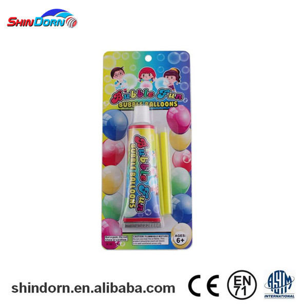 New products 2016 funny bubbles magic children glue toy