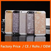 New Arrival Various Pattern LED Light Flash Cell Phone Case For iPhone 6