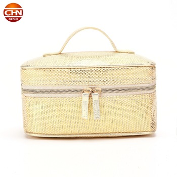 fashion large volume lady cosmetic pouch 2018 women makeup bag