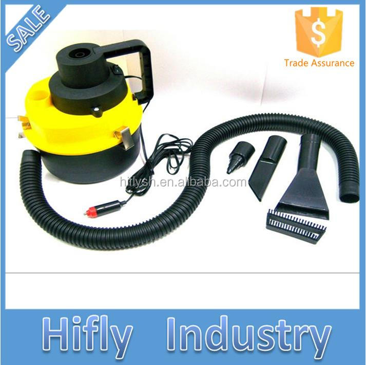 HF-802 DC 12V 90W High Power Strong Suction Portable Car Vacuum Cleaner