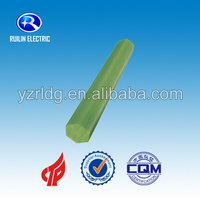 New insulation fiberglass hexangular rod