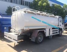 CLW high end market small refueling truck 4000 liters 4cbm mobile fuel service supply truck for sale