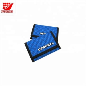 Customized Fashion Top Quality Logo Printed Nylon Wallet