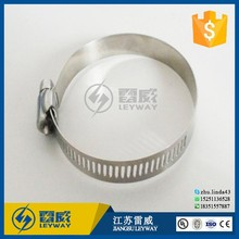 Stainless Steel 316 American Type Hose Clamp for Gas Pipe