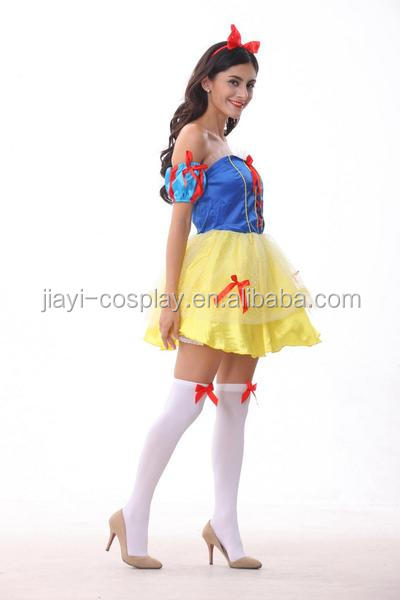 Hot sexy girls short dress dance costumes women party halloween costume JY-A036