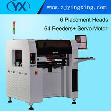 Cheap Cost 6 Heads SMT660 SMD Soldering Machine Pick and Place Machine Low Budget Surface Mount System