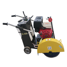 diesel engine road cutter walk behind concrete cutter 9HP road cutting machine asphalt road cutter 18' asphalt cutting