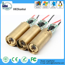 Hot sale industrial adjustable laser diode module focus green 532nm
