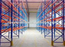 4 layers heavy duty selective pallet racking
