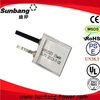 Sunb052323 3.7v untra thin deep cycle battery thin lipo battery super thin li-ion battery for auto credit