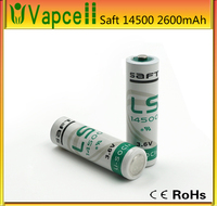 Hot selling sanyo 14500 battery 3.6v 2250mah rechargeable 14500 li-ion battery with nipple battery