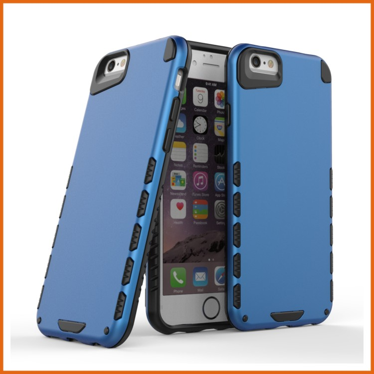 Combo rugged rubber ultra thin mobile phone back cover case for iphone 6s