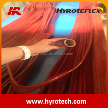 Silicone Resin Coated Fiberglass Sleeving for hydraulic hose / hose guard