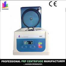Manson CE Manufacturer Prp Kit Machine Tabletop Low Speed lab Table Top Blood Serum Centrifuge