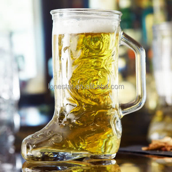2018 China supplier wholesale 12.5 oz. Boot Beer Mug beer glass in USA