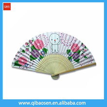 Factory Price Wedding souvenir decorative large bamboo Paper Fan