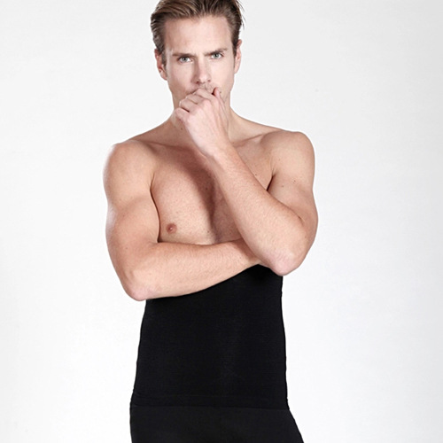New Arrival Good Elastic Black Slimming Man Shapers Girdle W880567A