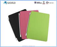 Magnetic smart leather cover case for new Ipad air 2