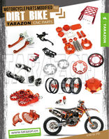 Factory whoelsale and custom made motorcycle modified parts