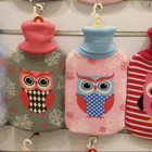lovely hot water bottle cover and hot water bottle