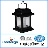 CE,ROHS 500 times charge monocrystal solar panel outdoor solar powered hanging lantern