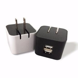 Universal 12V 2A USB wall charger with US folding plug USB mobile phone chargers