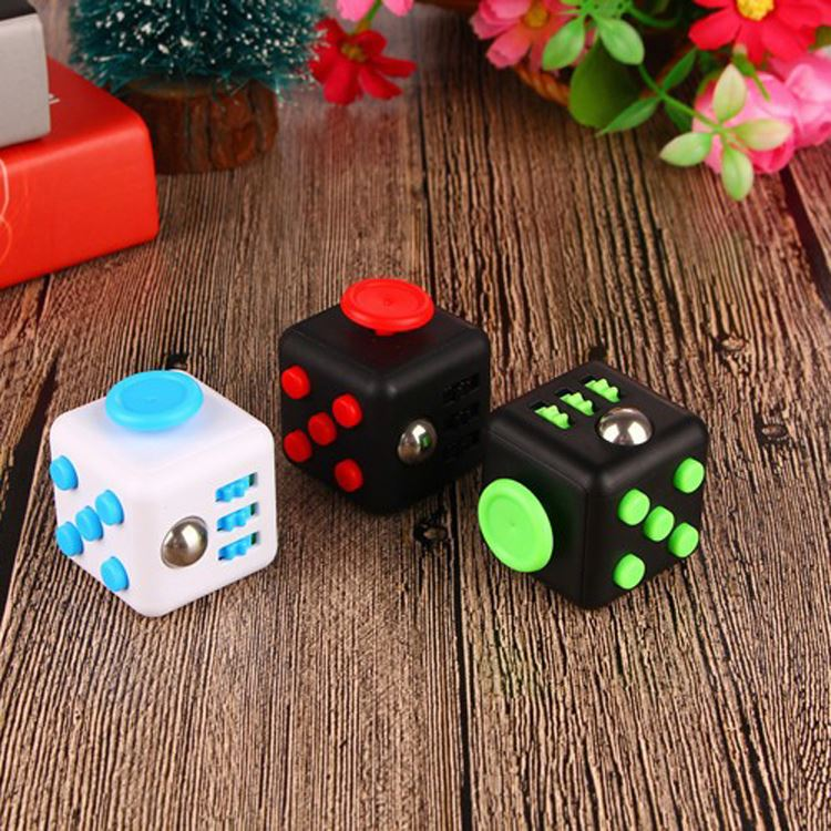 Hot sale desk toy stress fidget cube