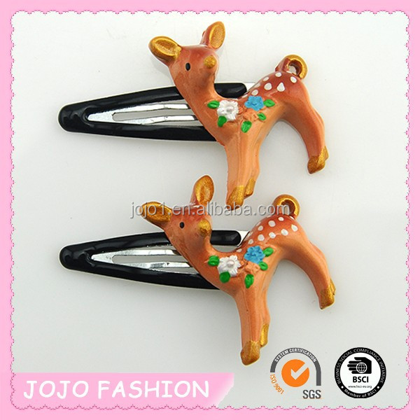 Plastic dog hair clips for children