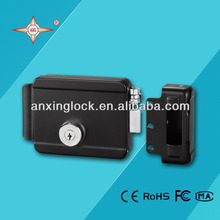 black electrical security lock with 30mm cylinder digital lock