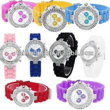 silicone wristband watches men (gite silicone watch)