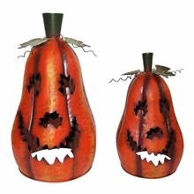 Funny and odd fashion designed lighted halloween pumpkins