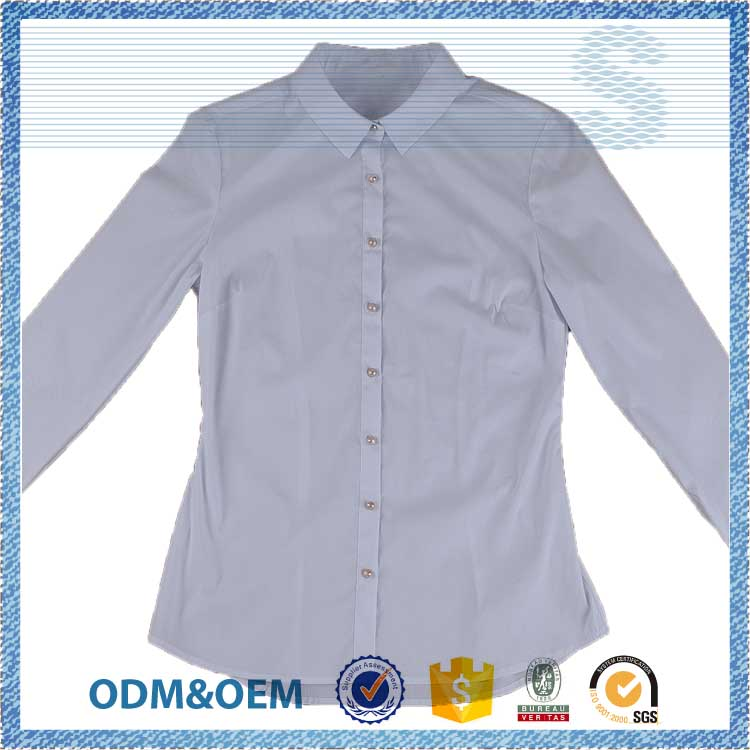 customized design good office blouse designs
