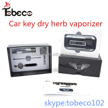Tobeco Alibaba express OLED indicator best portable dry herb vaporizer Tobeco original car key kit