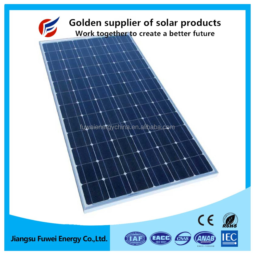 Hot Sale Solar Panel Mono Crystalline 60m 250w