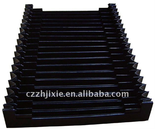 Plastic dust cover for cnc machine