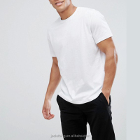 Custom Design Men Cotton Blank White T Shirts Private Label T-shirt Manufacturer