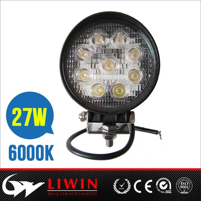 cheapest & hottest 27w car acceories offroad led driving light lw led headlight 27w car spotlights for motorcycles