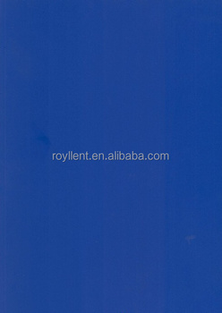 pure phenolic solid color blue HPL board