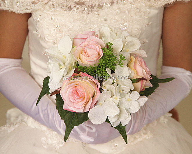 Bride Hand Bouquets Artificial Flower For Wedding