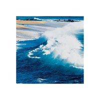 2011 blue ocean oil painting