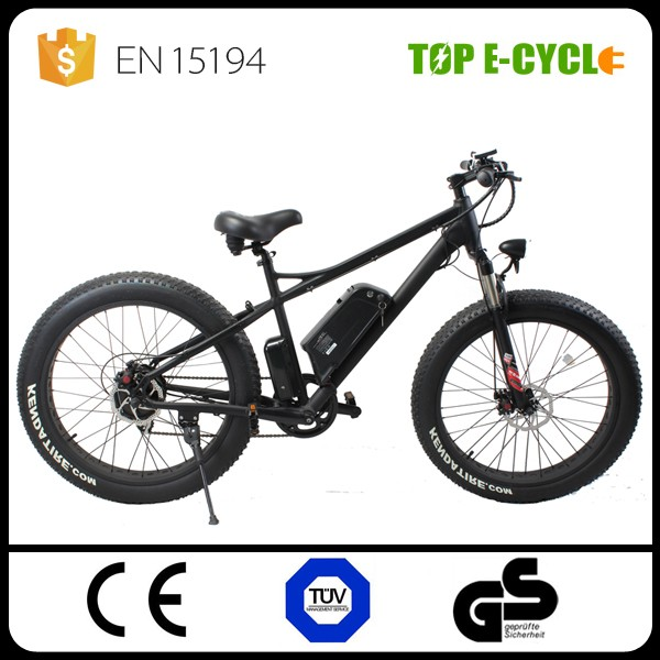 TOP 2017 750w bbs02 bicycle electric mountain bike motor bafang Fat Bike Tire Sea Bike