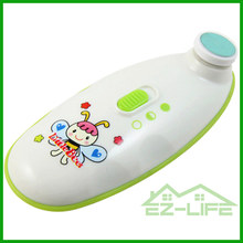 2017 Hot sale set ABS and electric baby nail clipper for baby