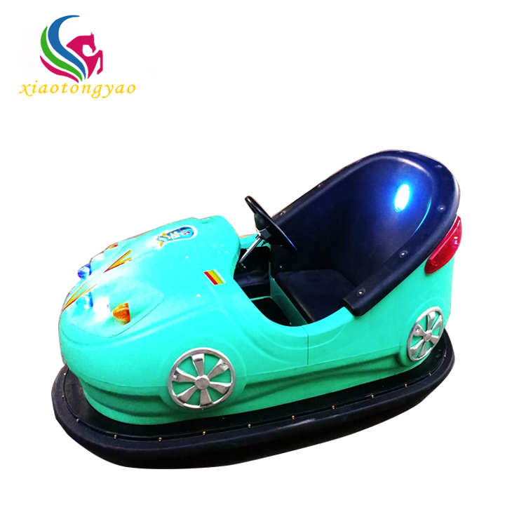 Xiaotongyao battery operated bumper cars/cheap amusement park kiddie rides for sale
