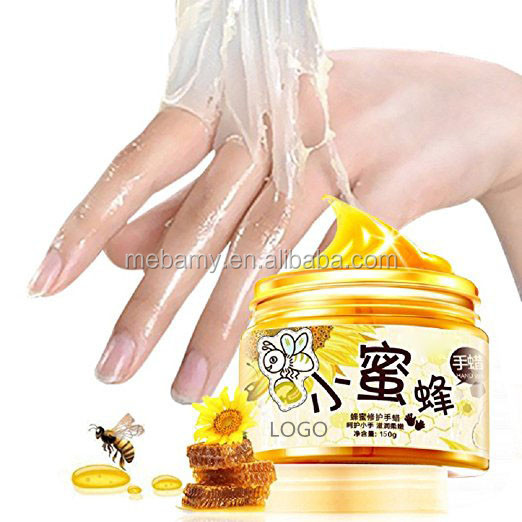 Hands Care Paraffin Milk & Honey Peel Off Hand Wax Mask