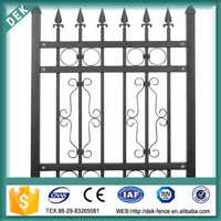 Pvc coated wrought ornamental cast iron fence finials