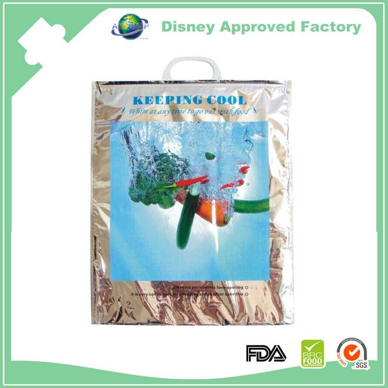 PET with foil/EPE/LDPE Material and Insulated Type ziplock thermal pouch